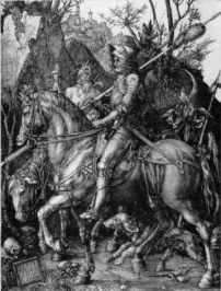 『騎士と死と悪魔』(1513年)