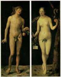 『アダムとエヴァ』(1507年)