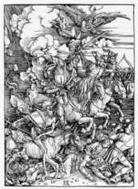『ヨハネ黙示録の四人の騎士』 (1497-98)