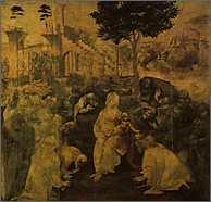 レオナルド・ダ・ヴィンチ『三王礼拝図』