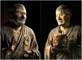 運慶『無着』『世親』像 奈良、興福寺北円堂