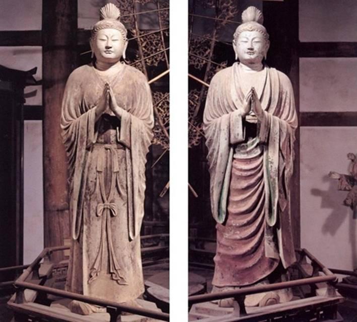 (fig.3)Kimimaro, Nikko,Gakko Bosatsu,Todai-ji temple,Nara